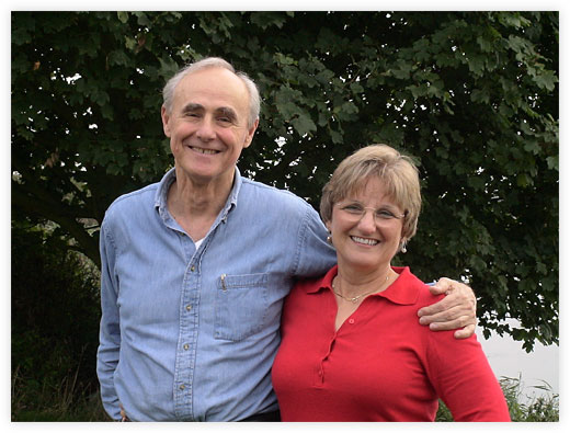 Ann and Gary at the UK EFT Master Program in 2005